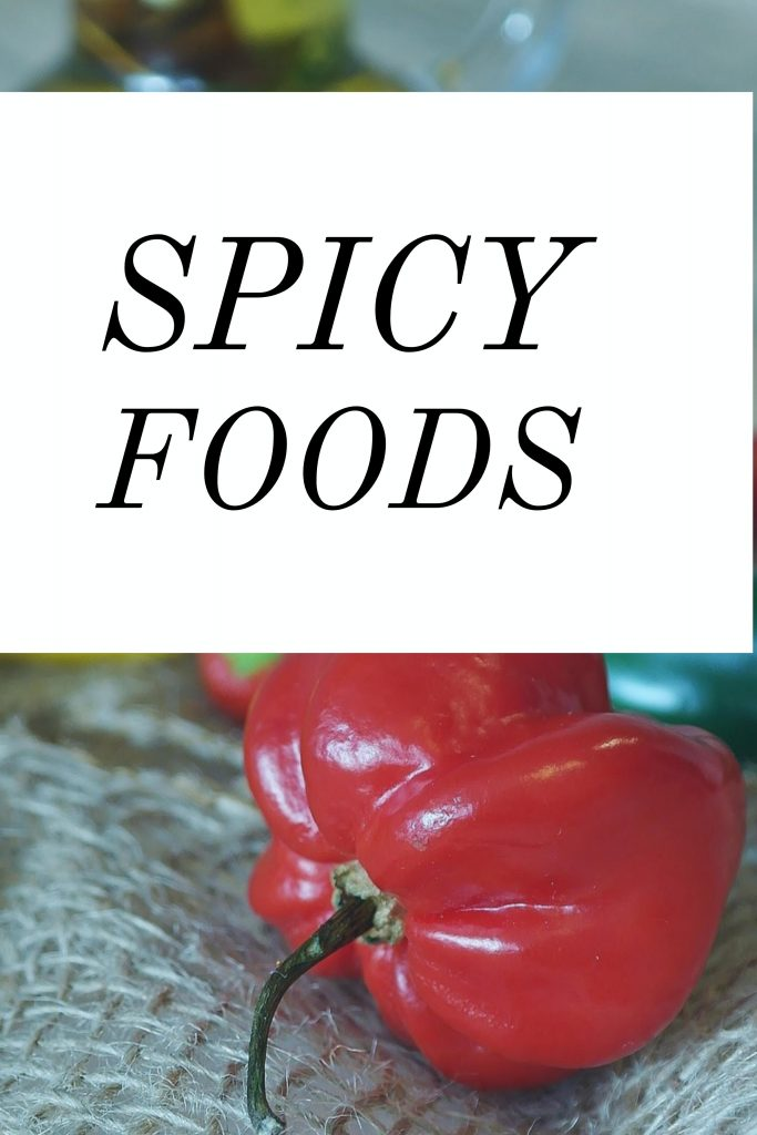 Spicy foods are said to help induce labor