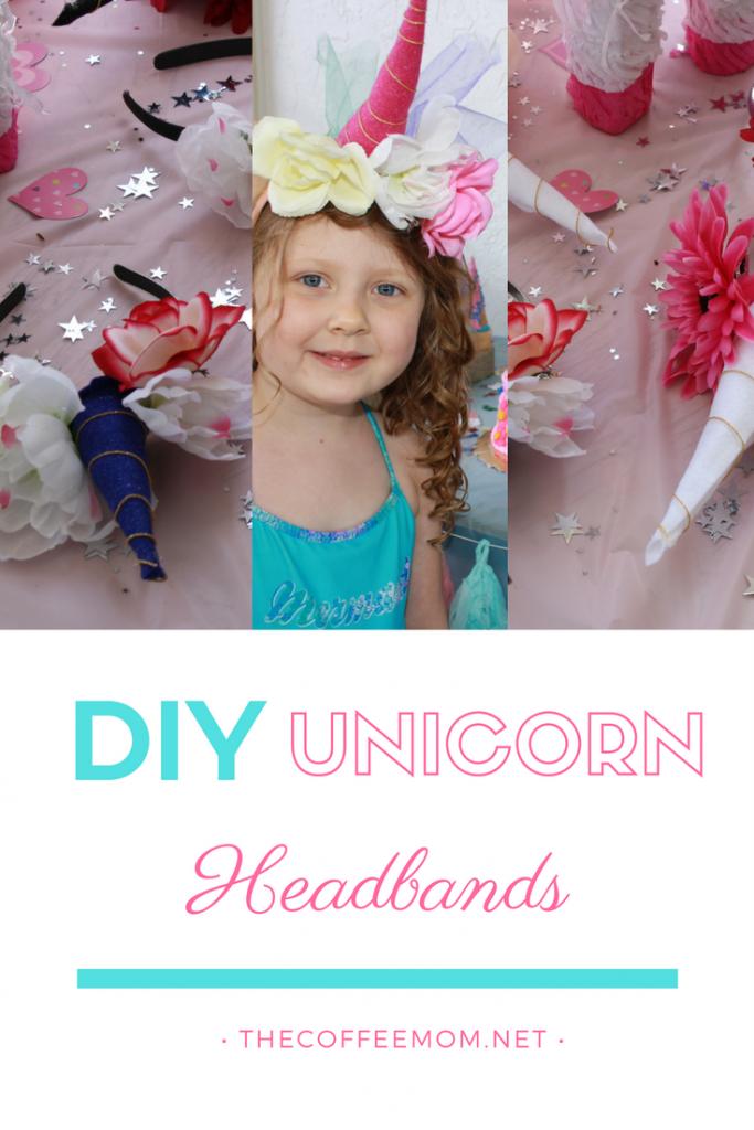 Simple DIY Unicorn Headbands