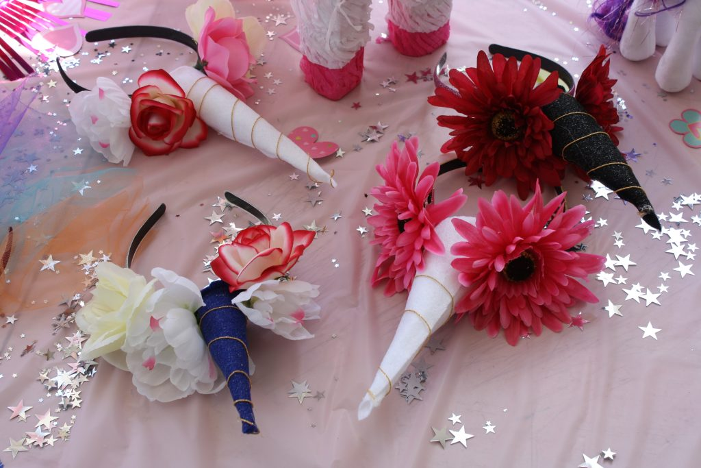 DIY Unicorn headbands