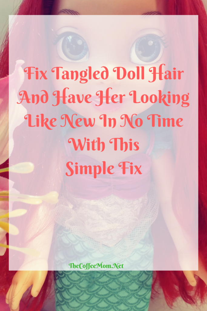 Fix Tangled Doll Hair And Have Her Looking Like New In No Time With This Simple Trick