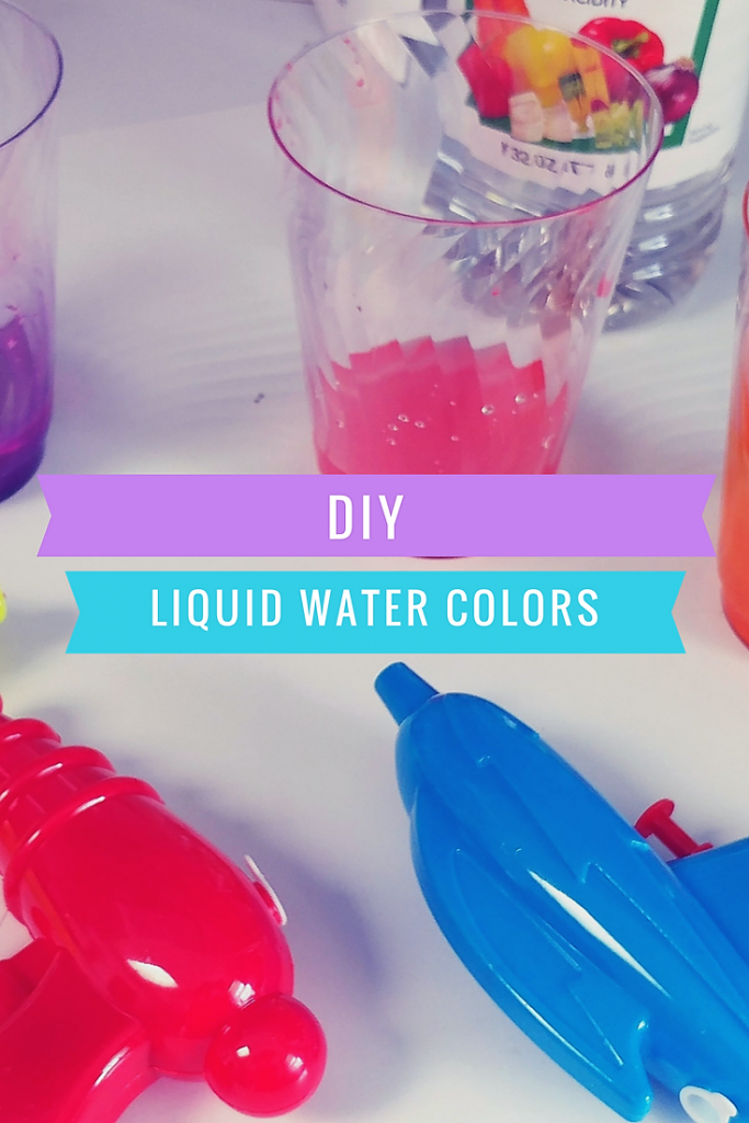 Dollar Tree DIY Liquid Watercolor Paint