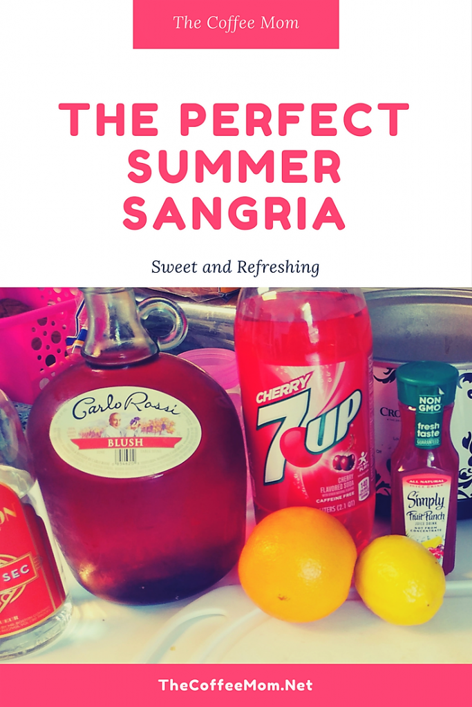 Perfectly refreshing summer sangria as made by a former bartender