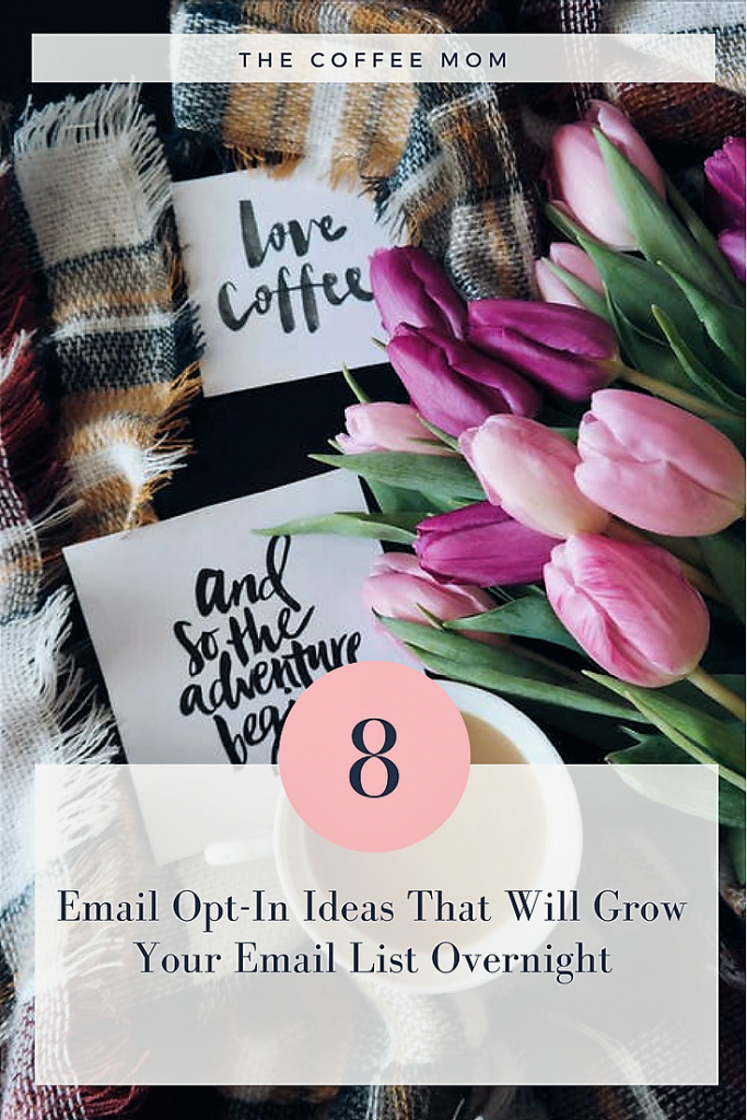 8 Easy email opt-in ideas to grow your email list