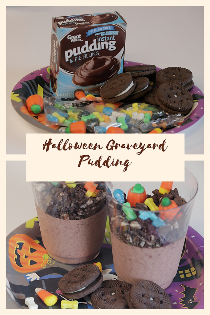 Halloween Graveyard Pudding