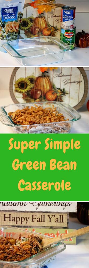 Simple Green Bean Casserole