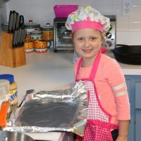 Cooking with Kids. screen free this summer