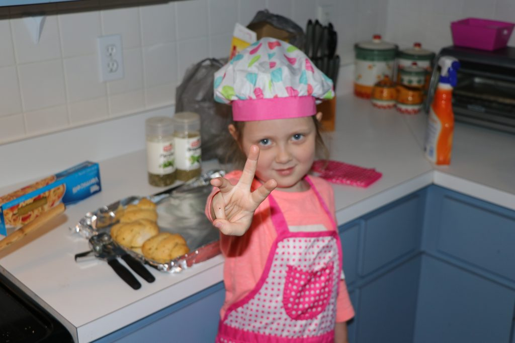 Learning math through cooking with kids