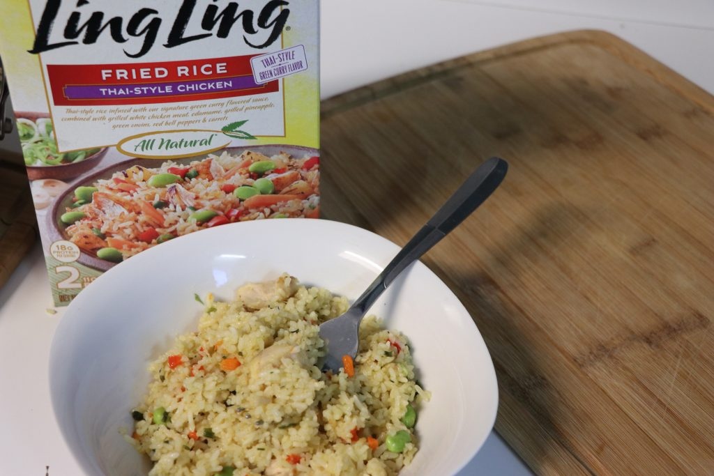 Simpligy weeknight dinners with ling ling