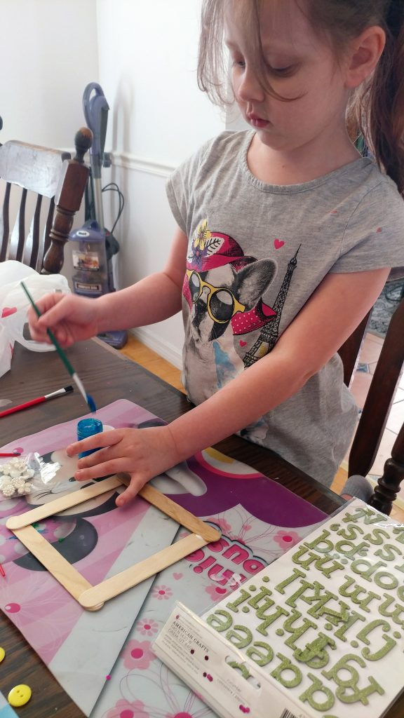 Kid's Dollar Tree DIY Picture Frames