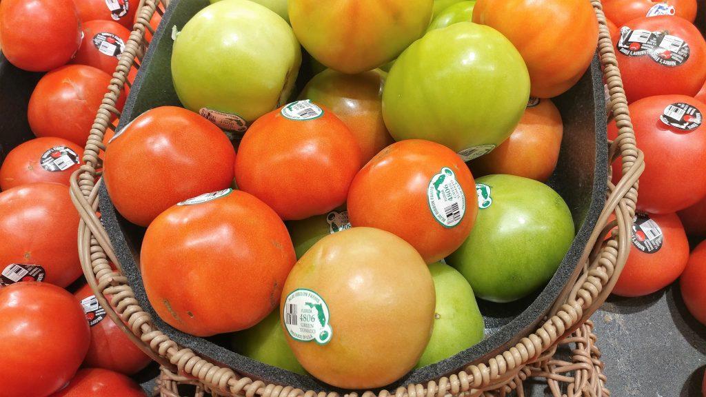 florida fresh produce green tomatoes