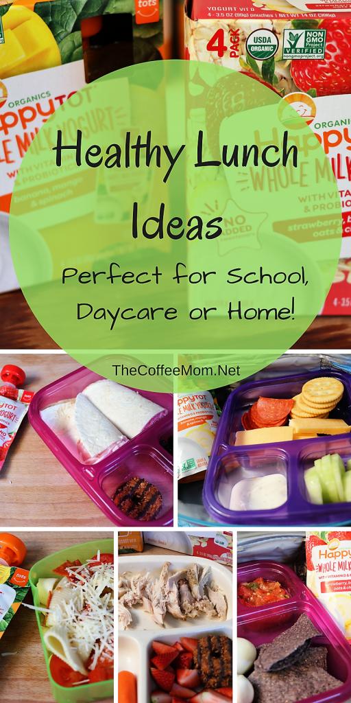 Healthy School Lunch Ideas #ad #HappyBellies
