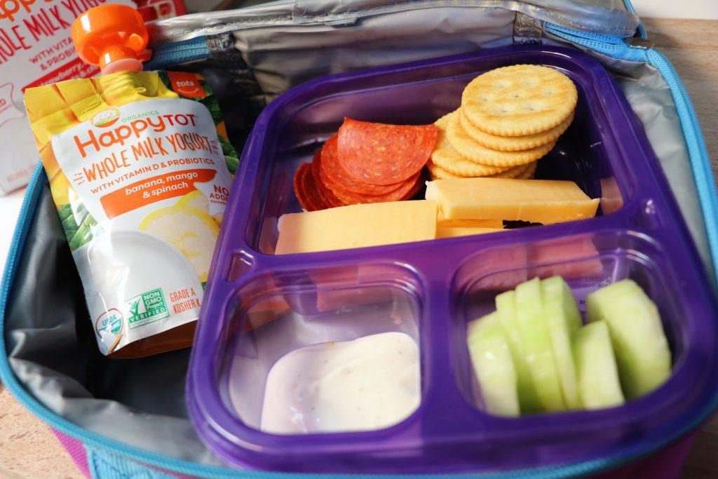 Healthy lunch ideas DIY lunchable