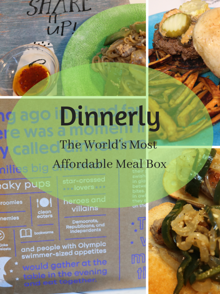 Dinnerly, the world's most affordable meal box. With easy family friendly meals that can be made in 30 minutes or less, for $4.99 a person, this is a must try meal service for busy families on a budget!