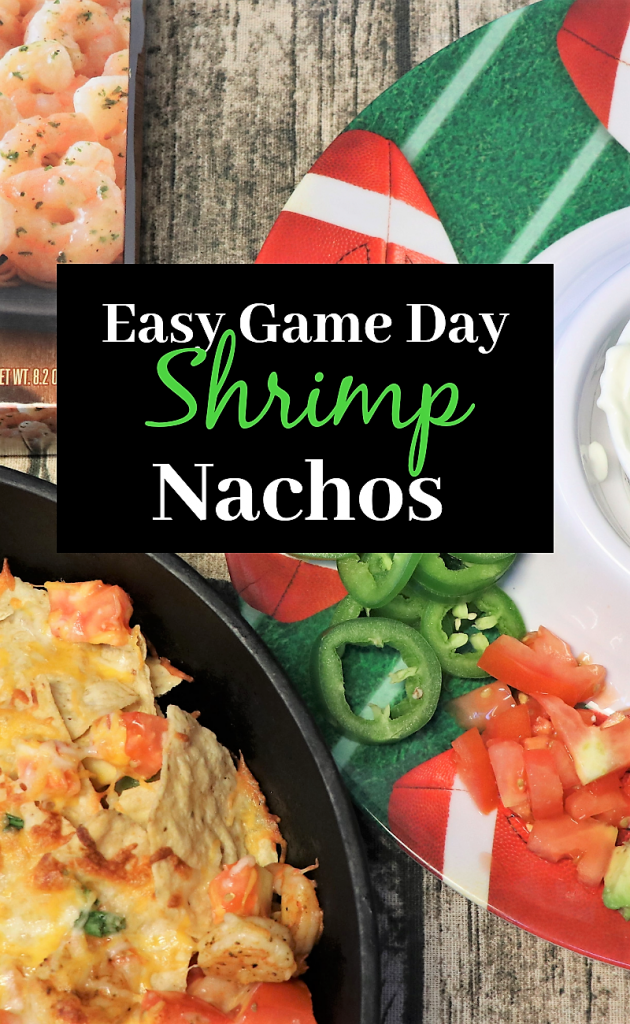 Easy Game day Shrimp Nachos