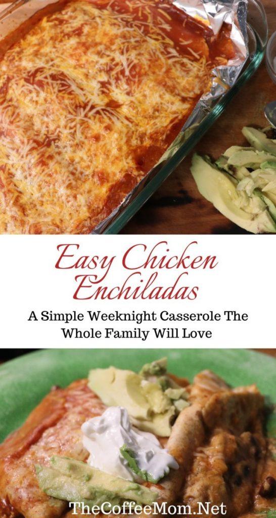 recipe for easy chicken enchiladas