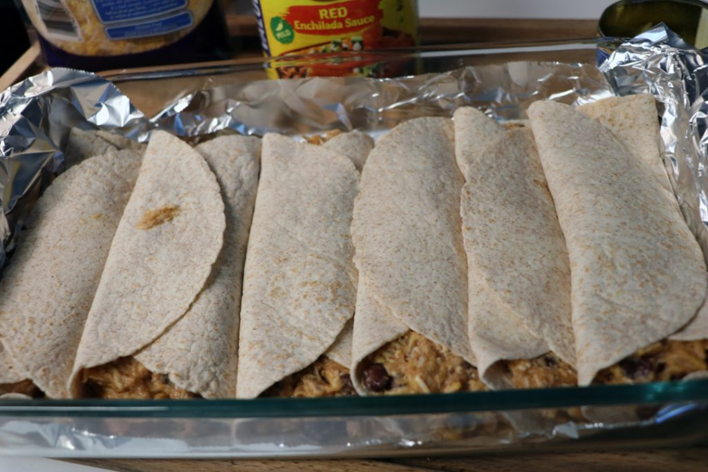 freezer chicken enchiladas