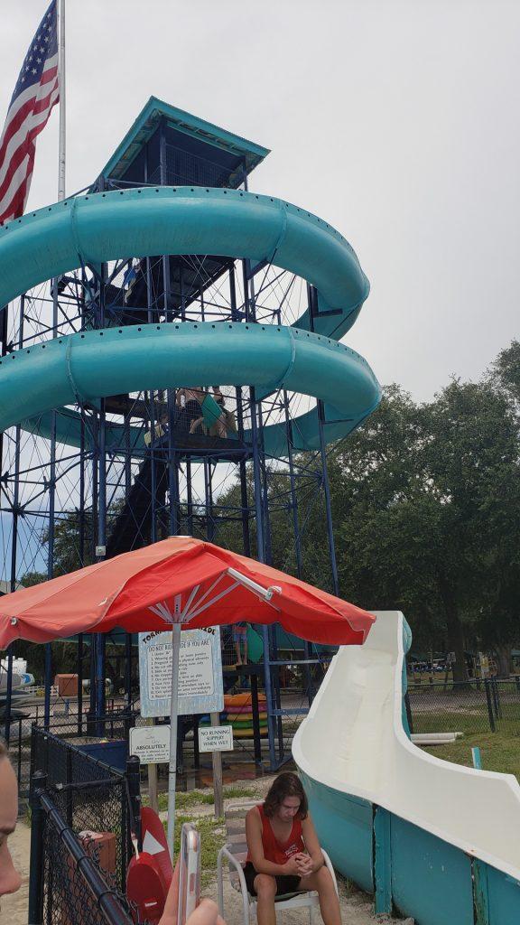 Tornado Water Slide Ride