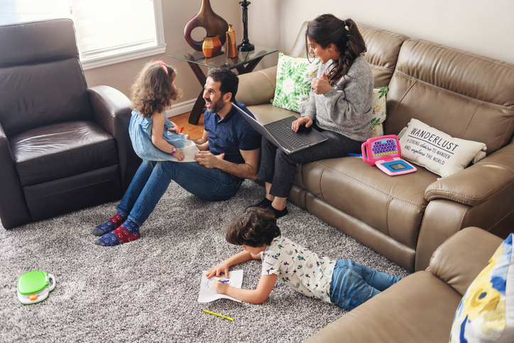 Having Your Kids at Home Through a Lockdown