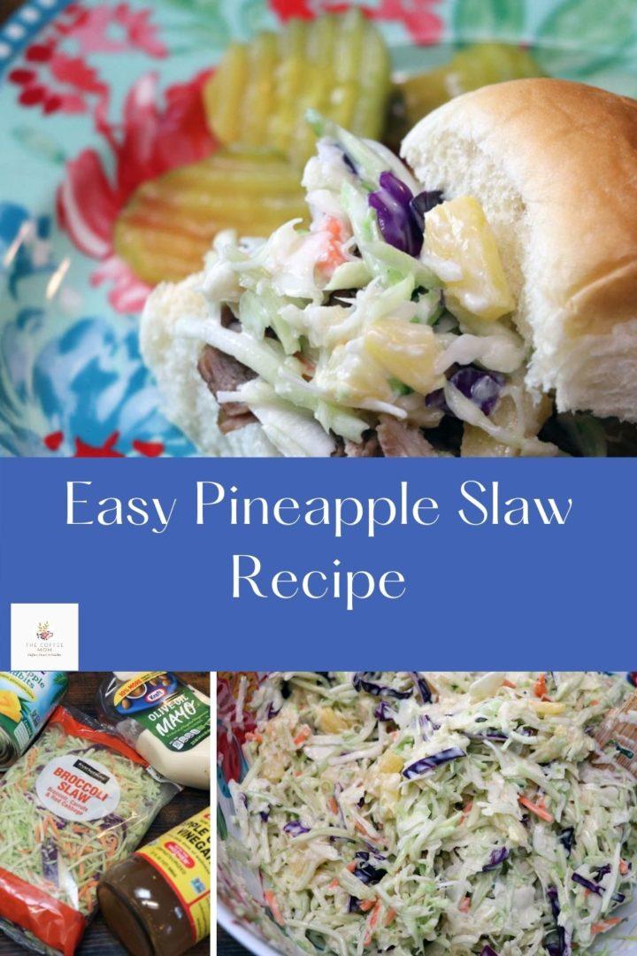 Easy Pineapple Slaw Recipe